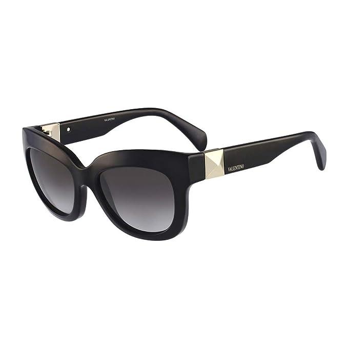 Valentino Gafas de Sol V693S 53 (53 mm) Negro: Amazon.es ...