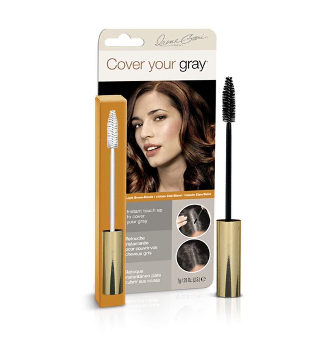Cover Your Gray Brush-in Wand - Light Brown/Blonde (6-Pack)