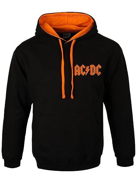 AC/DC - Sudadera con capucha - para hombre Negro negro: Amazon.es: Ropa y accesorios