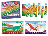 Number Sequencing Dinosaur Puzzles