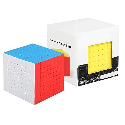 Alician 8X8X8 Square Shape Magic Cube for Brain Training Kids Toy