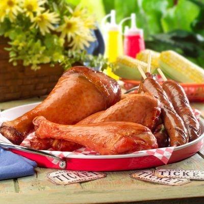 Farm Pac Kitchens Smoked Turkey Legs, 20 pieces (Turkey Leg)