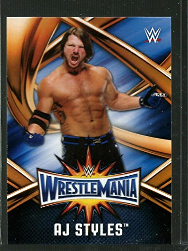 wrestling-wrestling-2017-wwe-road-to-wrestlemania-wrestlemania-33-roster-wmr-19-aj-styles-nm-mt