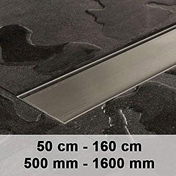 clp edelstahl duschrinne mariola mit siphon dusch ablaufrinne komplettset edelstahl 1400mm - Ablaufrinne Dusche 60 Cm