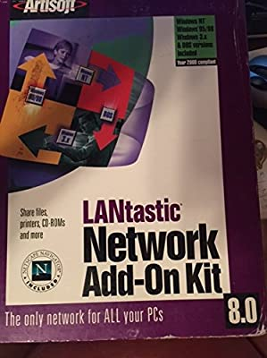 Lantastic Network Add-On Kit 8.0 (software & manuals)