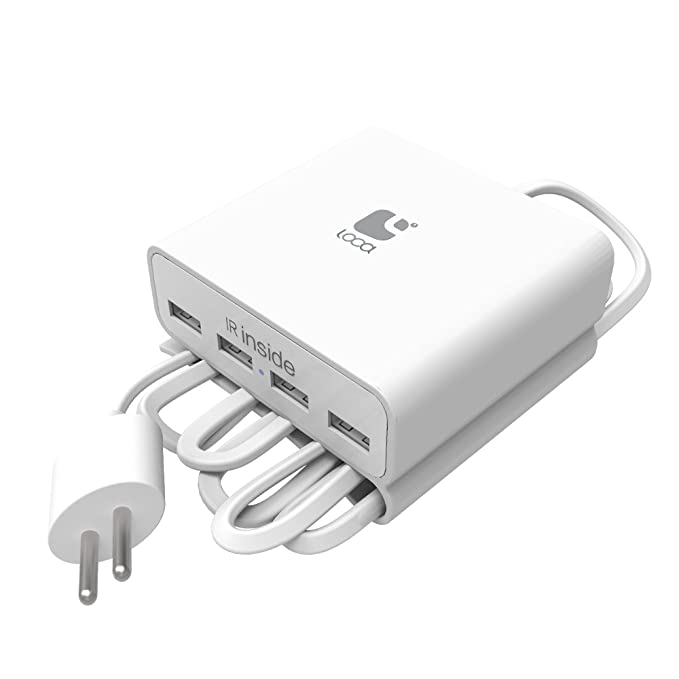 ehooray 4 Puerto USB Carga Cable Cargador Charger Multi ...