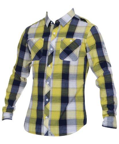 Billabong-milieu Chemise à carreaux homme L amarillo - RICH YELLOW