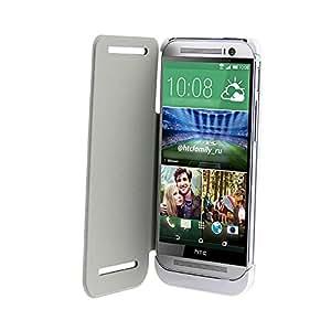 Vanda®-Funda Carcasa con Bateria HTC ONE M8- Power Pack Capacidad 3200 mAh - color blanco - Powerbank htc one m8 Powercase