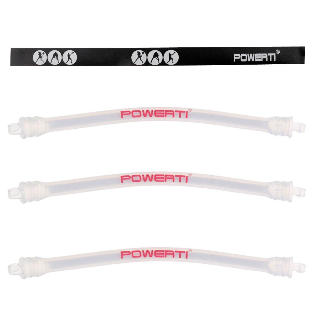 perfk 4 Pz Antivibrazioni Corde Racchetta Vibration Smorzatore Leggero Silicone Acccessori Per Tennis