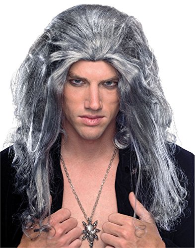 (Rubie's Underlord Long Wig, Grey, One Size)