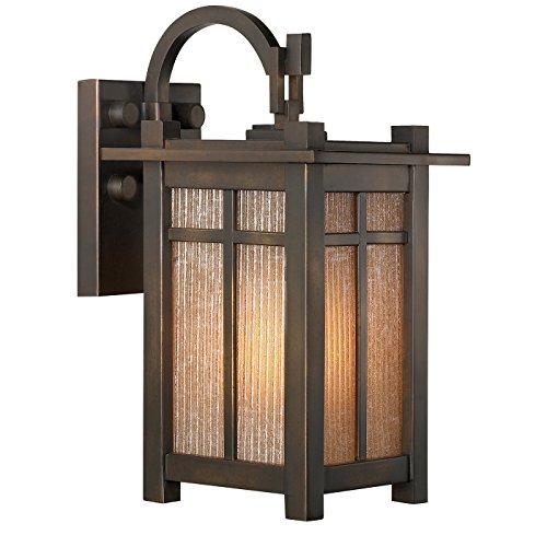 Fine Art Lamps 402181ST Capistrano Single-Light Outdoor Wall Sconce, Warm Bronze Patina - Capistrano Outdoor Wall