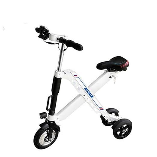 WM Adulto Scooter eléctrico Equilibrado Triciclo Vehículo ...
