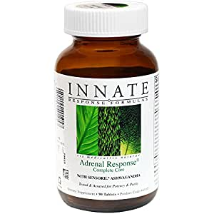 INNATE Response Formulas - Adrenal Response Complete Care, Supports a Healthy Stress Response, 90 Tablets