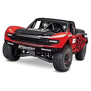 Traxxas Unlimited Desert Racer Rc Race Truck, Red