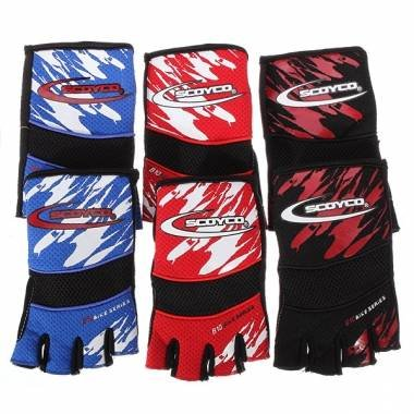 SCOYCO Bike Cycling Half Finger Gloves Outdoor Glove Bike Accessories.