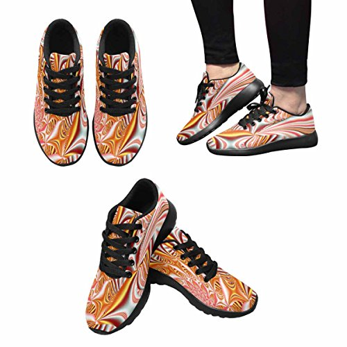 Casual Outdoor Athletic Running Women's Sneakers InterestPrint Multi Workout Shoes 12 Fashion Walking Shoe Shoes CqZtw