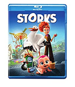 Cover Image for 'Storks [Blu-ray + DVD + Digital HD]'