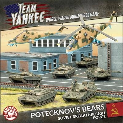 Team Yankee Soviet Potecknovs Bears (Plastic Army Deal) by Battlefront - Mi 24 Hind Helicopter