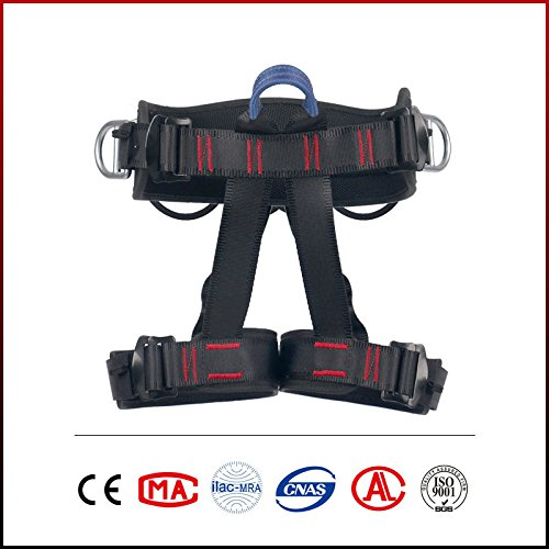 Climbing Harness Ingenuity Professional Mountaineering Rock Climbing Harness,Rappelling Safety Harness Work Safety Belt