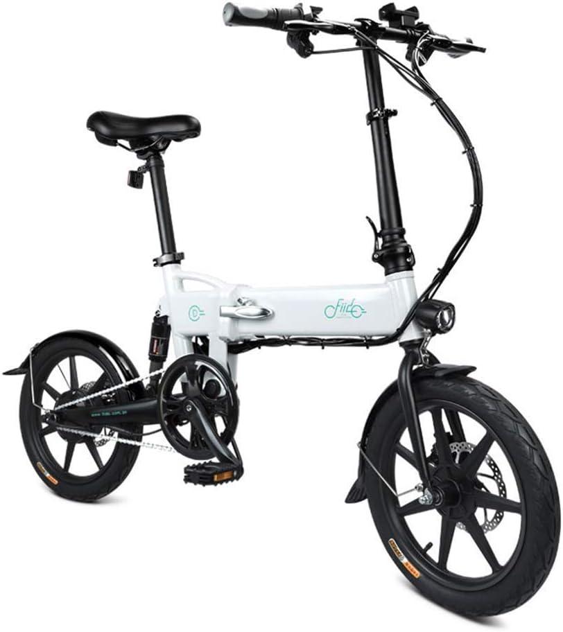Domeilleur - Bicicleta eléctrica plegable con altura ajustable para ciclismo (1 unidad): Amazon.es: Hogar
