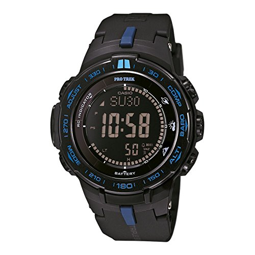 Casio PROTREK Slim Line Series Solar Multiband 6 Triple Sensor Ver.3 Men's Watch PRW-3100Y-1DR