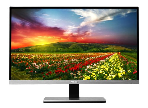 AOC i2367Fh 23-Inch IPS Frameless LED-Lit Monitor, Full HD 1080p, 5ms, 50M:1 DCR, VGA/HDMI, Speakers, Multi Purpose Stand