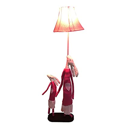 Children\'s Room Floor Lamp Soft Lighting Animal Model Cartilage Iron ...