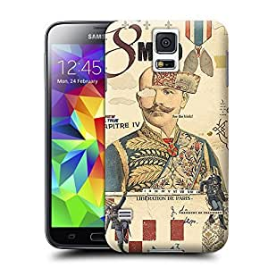 Unique Phone Case Mind Muharrem Cetin retro style collage design Hard Cover for samsung galaxy s5 cases-buythecase