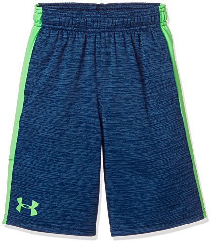 new concept 4c78c 6042c Under Armour Boys Stunt Printed Short, Blue Green Blue, YXL
