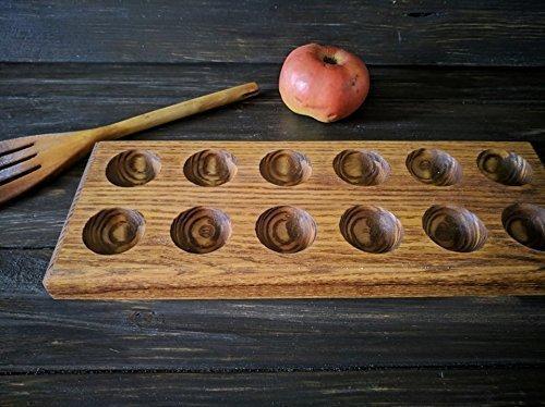 Egg holder Wooden Egg Holder Egg tray Easter Basket Egg Carton Easter gift wooden Easter egg rack easter home decor