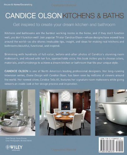Candice Olson Kitchens and Baths  Candice Olson  9780470889374  Amazon com   BooksCandice Olson Kitchens and Baths  Candice Olson  9780470889374  . Dream Kitchens And Baths Magazine Fall 2013. Home Design Ideas