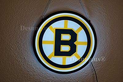Desung.us® Revolutionary Boston Bruins LED Neon Light Sign High Quality Design Decorate 3rd Generation Sign