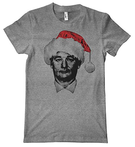 Bill Murray Santa American Apparel Tri-Blend T-Shirt