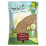 Organic KAMUT Khorasan Wheat Berries — 100% Whole Grain, Non-GMO, Sproutable for Wheatgrass, Bulk (by Food to Live) (10 Pounds)