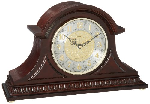 Seiko Mantel Chime Clock with Hand-Rubbed Finish by Seiko Watches