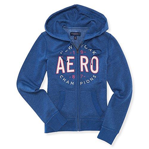 aeropostale-aero-ny-women-long-sleeve-pull-over-full-zip-hoodie-sweat-shirt-l-blue-1198