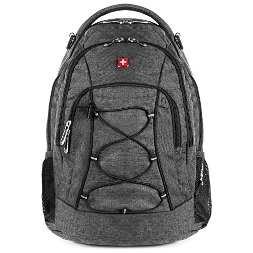 SwissGear 1186 Laptop Backpack. Sturdy & Durable Laptop Backpack for Travel and Work (17.5