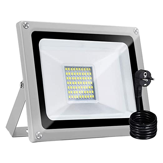 30W Proyector LED Para Exteriores con Enchufe, Bellanny Proyector ...