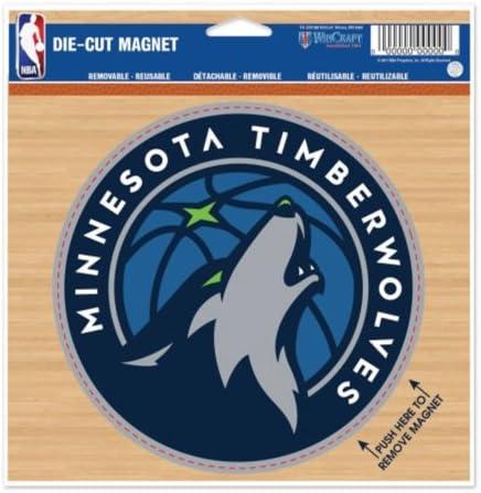 Amazon Com Nba Minnesota Timberwolves New Logo 6 X9 Inch Sheet