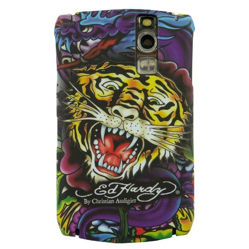 Ed Hardy Faceplate for BlackBerry Curve 8300 - Tiger Tattoo