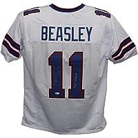 $139 » Cole Beasley Autographed/Signed Pro Style White XL Jersey Bills Mafia BAS