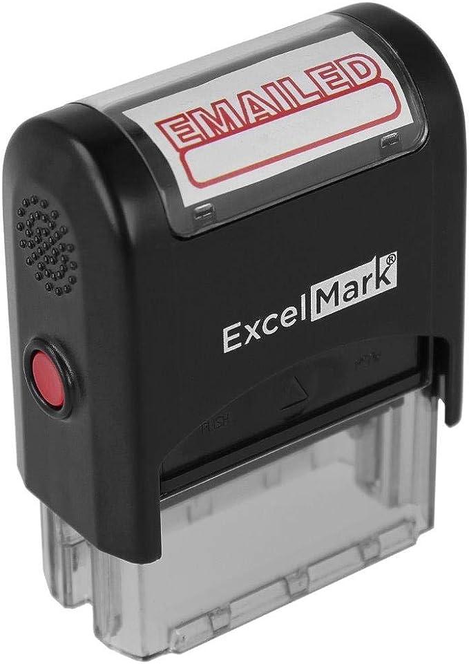 Black Ink E-6493 Middle Finger Self Inking Rubber Stamp