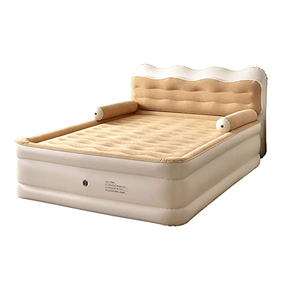 Amazon.com: HOPELJ Cabecero de cama hinchable de felpa ...