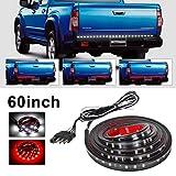 AV SUPPLY 60'' LED Truck Tailgate Strip Light Bar Red White Running Reverse Brake Turn Signal for SUV RV Trailer