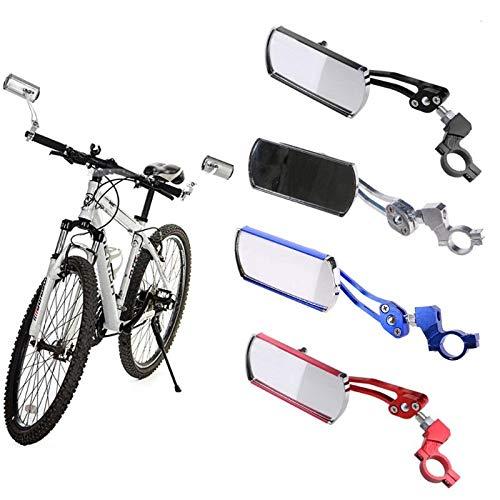 Freelance Shop スポーツ 360度回転 自転車 鏡 反射 安全 サイクリング ハンドルバー バックミラー - ブルー   B07ML4TFPZ