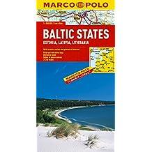 Baltic States/Estonia/Latvia/Lithuania Marco Polo Map: 1:800 000