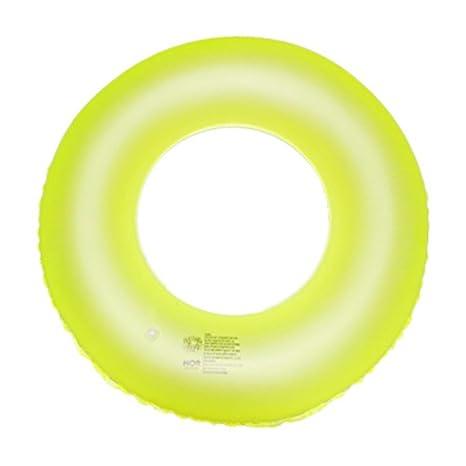 wanxing gran flotador hinchable anillo fluorescente flotador hinchable de piscina playa salón sillas larga para piscina