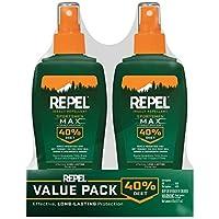 Repel Sportsmen Max Insect Repellent Pump Spray, 6-oz, 2-PK