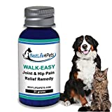 WALK-EASY Anti-inflammatory Homeopathic Supplement Joint and Hip Pain Relief for Dogs & Cats - Advanced Treatment Reduces your Pet's Arthritis Pain, Natural Support for Knee and Back Aches