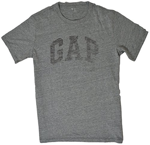 gap-mens-arch-logo-graphic-short-sleeve-crew-neck-t-shirt-large-grey